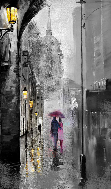 Buy Couple With Umbrella By Vekkas Mahalley Rs 7190