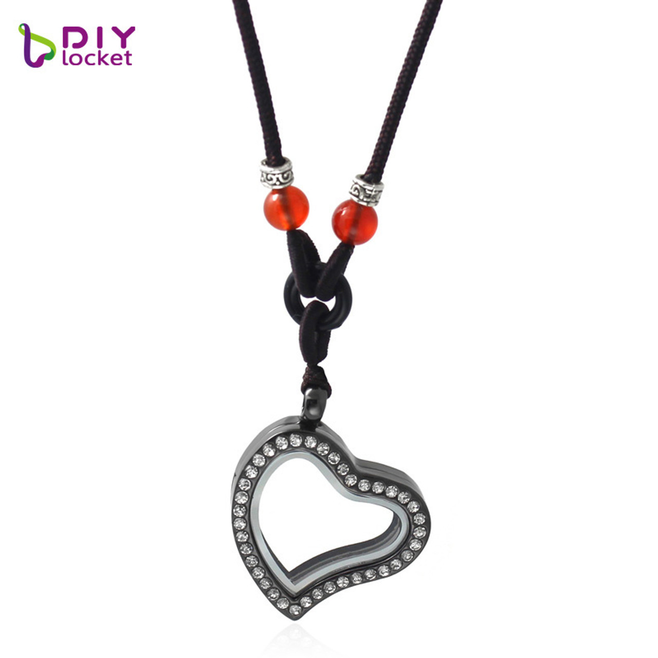 Diylocketcom Jewelry Wholesale Heart Floating Charms Locket