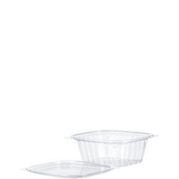 C12DCPR Dart 12 Oz. ClearPac®Plastic Containers and Lids (Combo Pack)