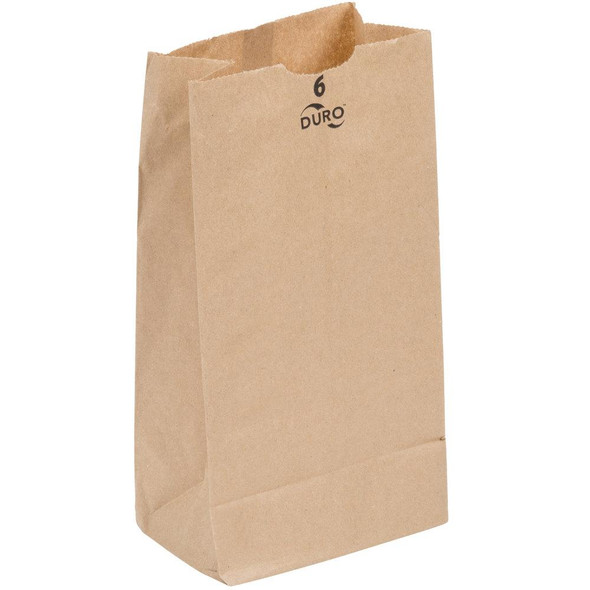 6 LB. Extra Heavy Duty Brown Paper Bags