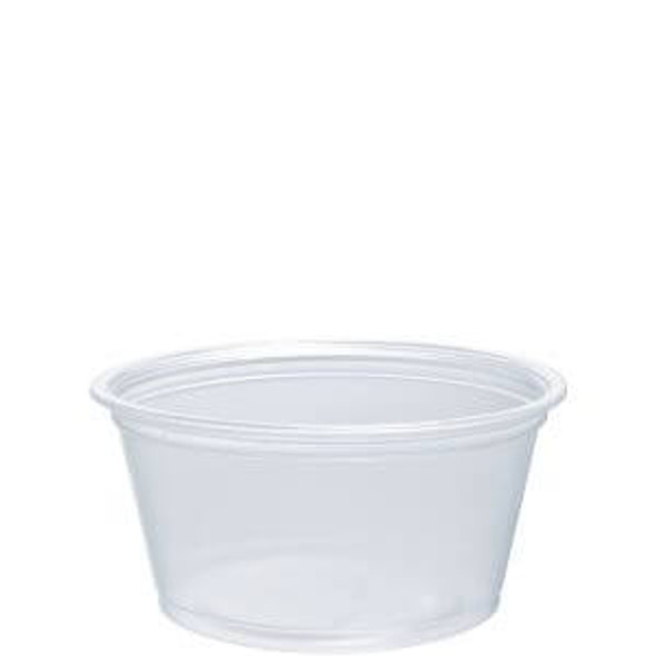 200PC 2 Oz. Dart Clear Portion Cups