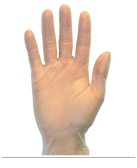The Safety Zone ® Small Clear Vinyl Gloves Powder Free GVP9-SM-HH