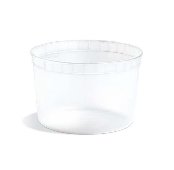 64 oz HDPE Natural Cup 200 Case Count CL64030004