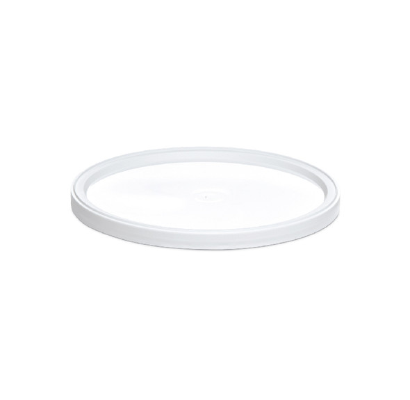 White Lid for 168 Oz. Tub 100 Count LF10040105