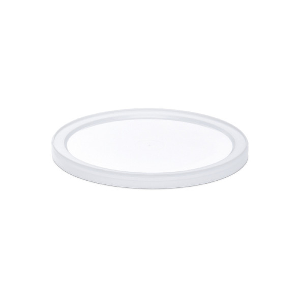 Natural Lid for 64/86/128 Oz. Tubs 200 Count LL86040004