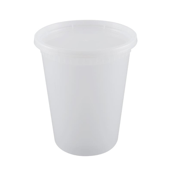 Easypack 32 Oz. Hot Soup Cups QH-32 (Combo Pack: 240 Cups/240 Lids)