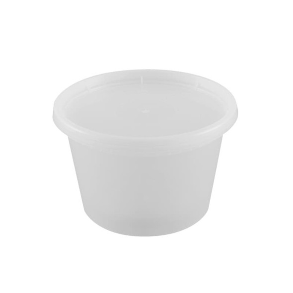 Easypack 16 Oz. Hot Soup Cups QH-16 (Combo Pack: 240 Cups/240 Lids)