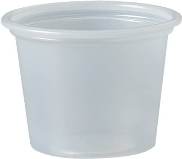 100PC 1 Oz. Dart Clear Portion Cups