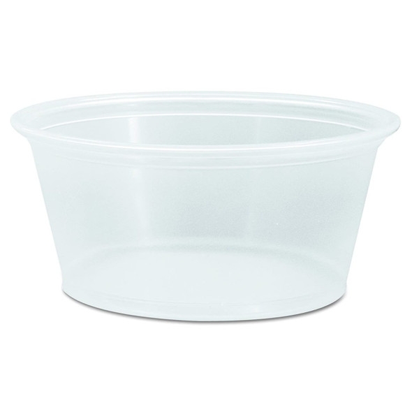PC325 3.25 Oz. Walco Clear Portion Cups