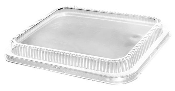 Low Dome Clear Plastic Lid for 1/2 Steam Pans HFA 321LDL-100