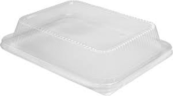 High Dome Clear Plastic Lid for 1/2 Steam Pans HFA 321HDL-100