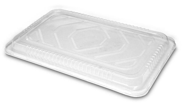 Low Dome Clear Plastic Lid for Full Size Steam Pans HFA 2019LDL-50