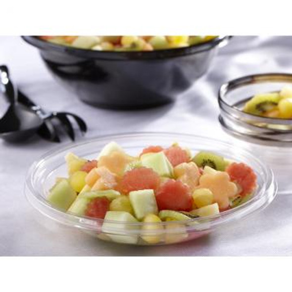 Clear 32 oz. Shallow Large Round Bowl 13032A100