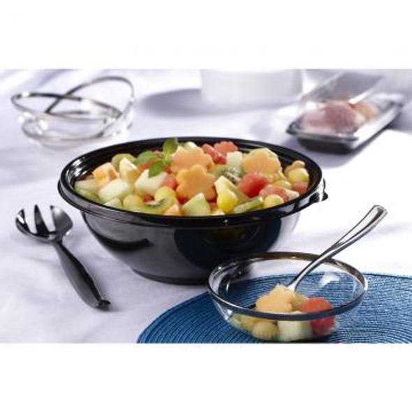 Black 48 oz. Large Round Bowl 92048A100