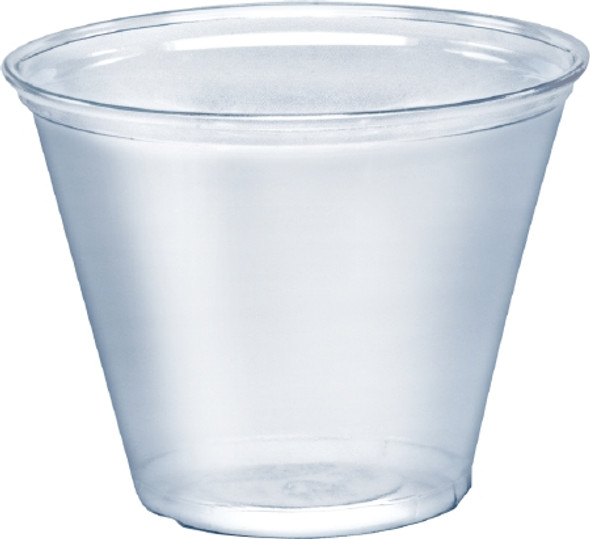 TP9R Solo® 9 Oz. Squat Ultra Clear™ PET Cold Cups