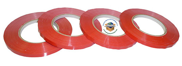 "3/8"" Red Film/Produce Tape"