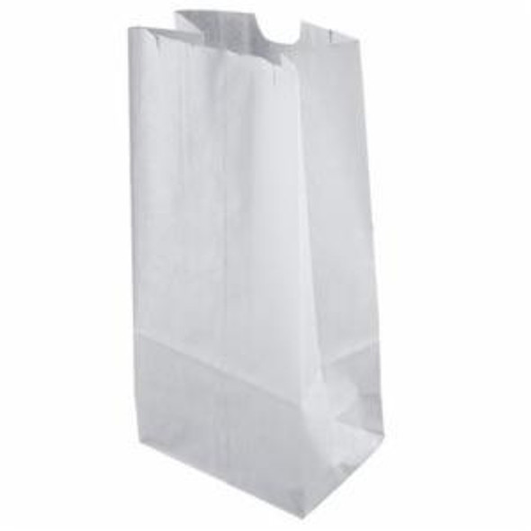 20 Lb. White Long Paper Bag