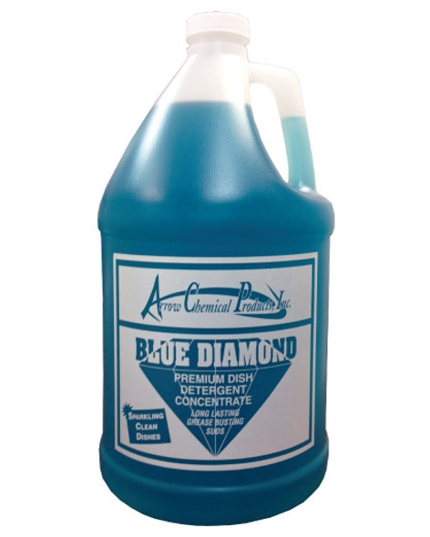#161 Blue Diamond Premium Dish Wash Soap 4/1 Gallon