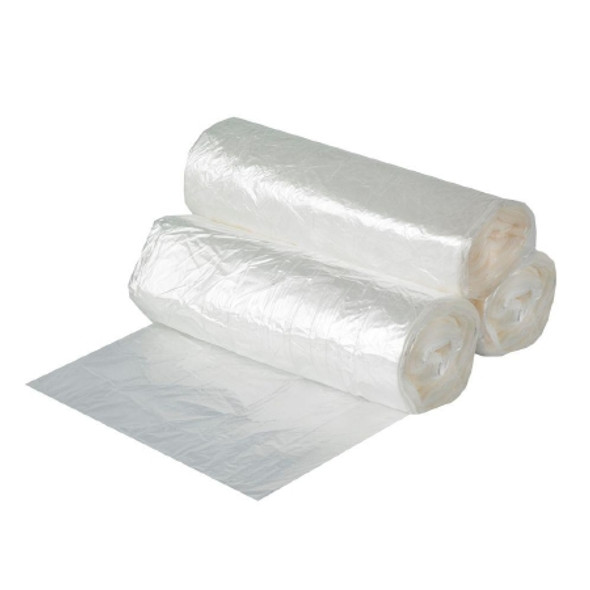 Noramco RST3339C 33 Gallon  .75 Mil Heavy Duty Clear Trash Bag Liner - 33 x 39 in.