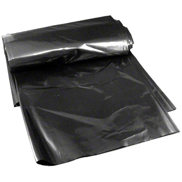 38 x 58 in. Black Heavy Duty  Garbage Bags 56 Gallon 1.6 Mil