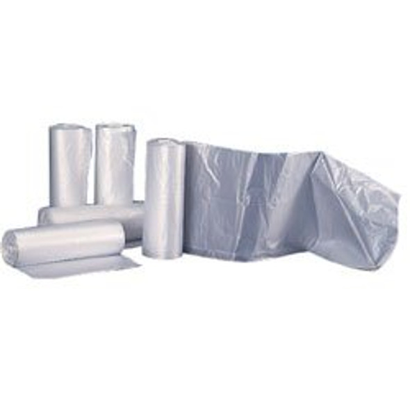 38 x 58 in. Clear Heavy Duty Garbage Bags 56 Gallon 1.6 Mil