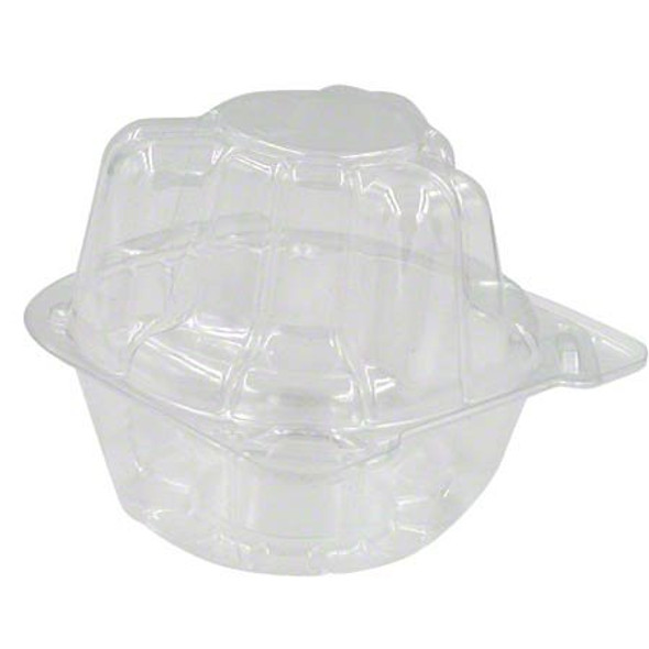 LBN-5101 1 Count Clear Plastic Cupcake Containers
