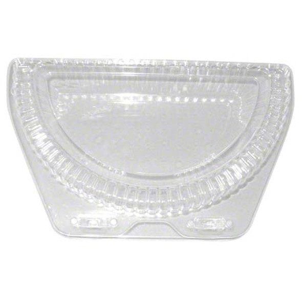 """LBN-9000 9"""" Clear Plastic Half Pie Containers"""