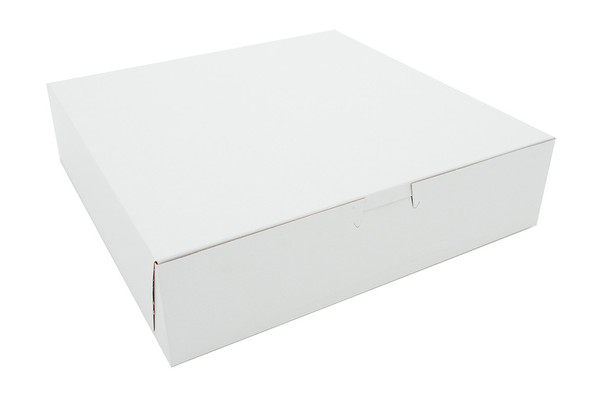 10 x 10 x 2.5 White Bakery Box 6270
