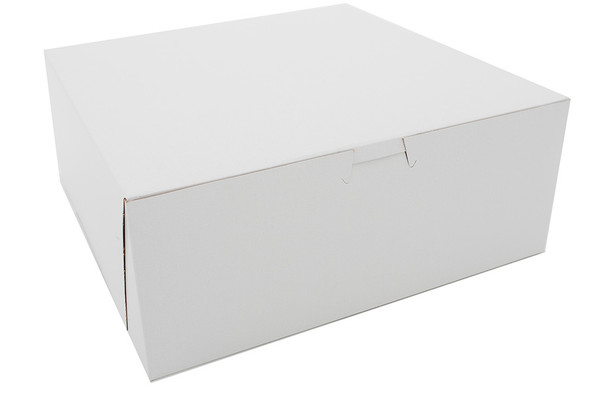 10 x 10 x 4 White Bakery Box 6271