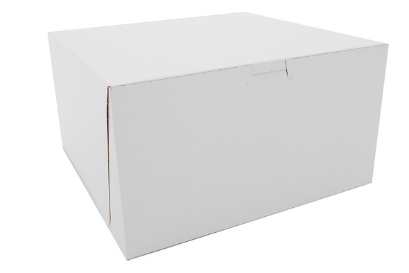 10 x 10 x 5 White Bakery Box 6272