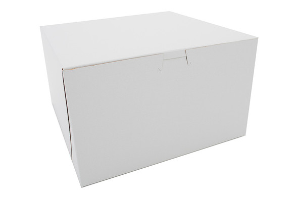 10 x 10 x 6 White Bakery Box 6275