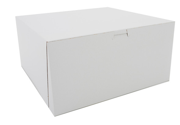 12 x 12 x 6 White Bakery Box 6292
