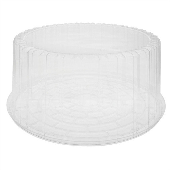 "Y9510SKHU 10"" Deep Showcake Clear Bottom"