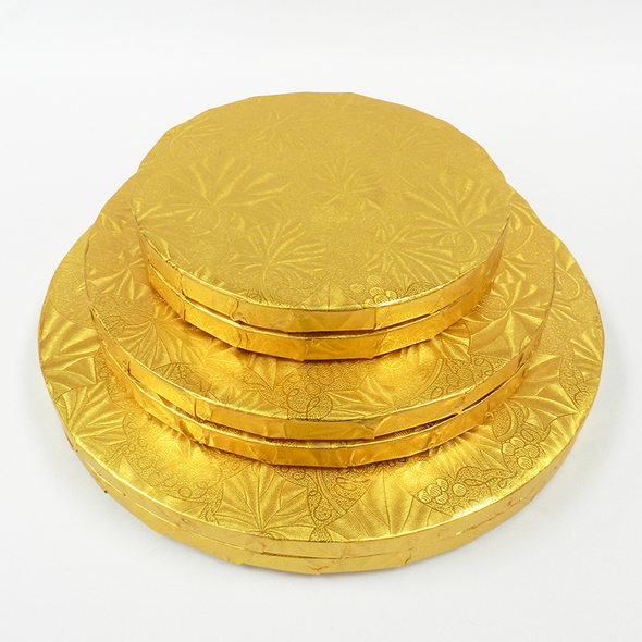 """ENJAY 10"""" Gold Round Board 1/2"""" Thick"""