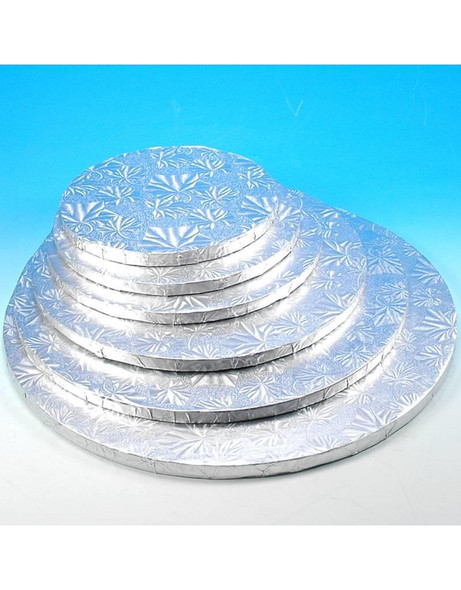 "ENJAY 10"" Round Silver Board 1/2"" Thick"