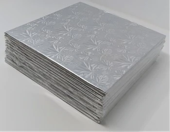"ENJAY 8"" Square Silver Board 1/4"" Thick"