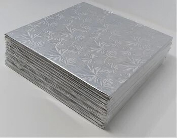 "ENJAY 10"" Square Silver Board 1/4"" Thick"