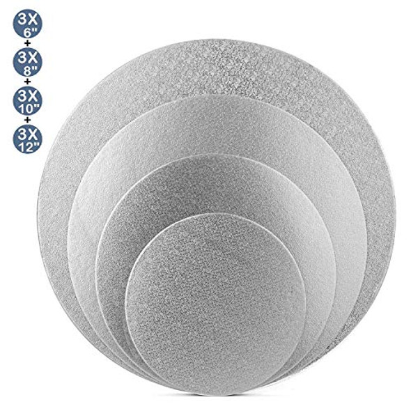 "ENJAY 10"" Round Silver Board 1/4"" Thick"
