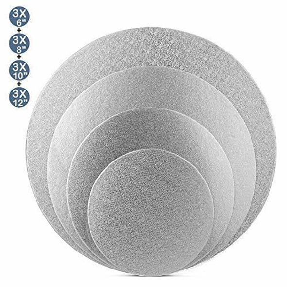 "ENJAY 16"" Round Silver Board 1/4"" Thick"