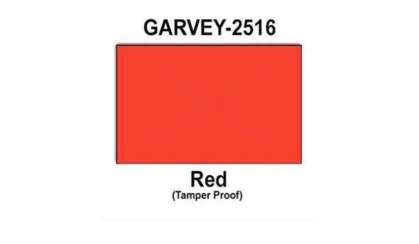 25-16 Garvey Fluorescent Red Label For 25-88 2&25-5 Line Gun
