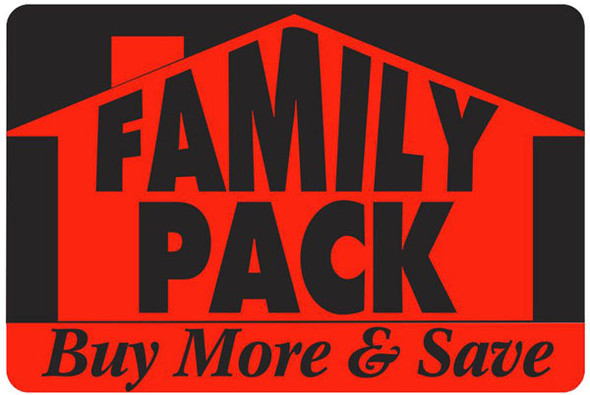 FAMILY PACK LG BUY MORE & SAVE /HOUSE 10074