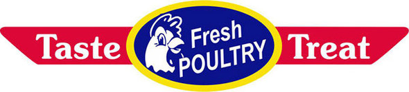 FRESH POULTRY CORNER RIBBON LABEL 10030