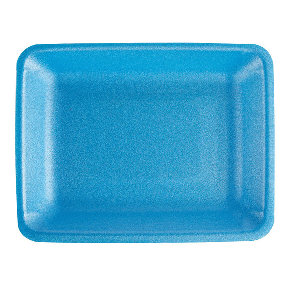 4P BLUE CRYOVAC FOAM TRAY