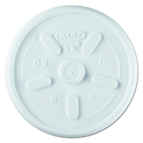 8UL Translucent Vented Lid For Dart 8J8 Cups