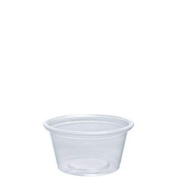 075PC .75 Oz. Dart Clear Portion Cups