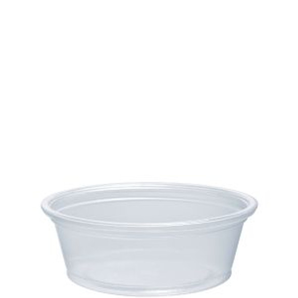 150PC 1.5 Oz. Dart Clear Portion Cups