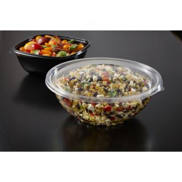 51048A100 Clear Flat Lid for 48 Oz. Bowls