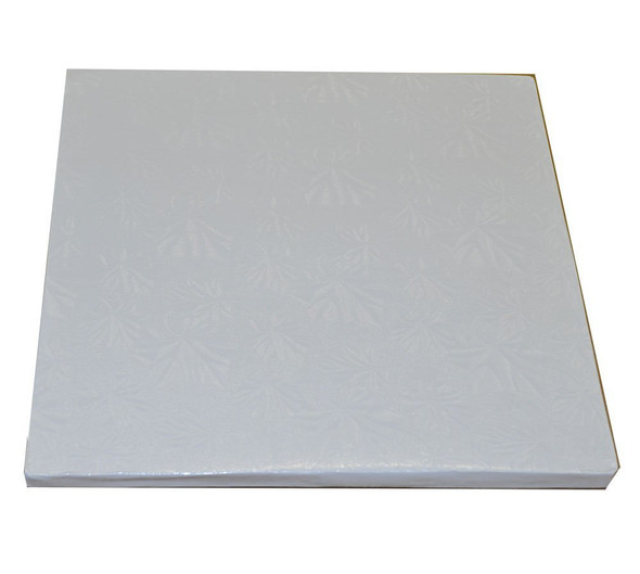 """ENJAY 14"""" Square White Board 1/2"""" Thick"""