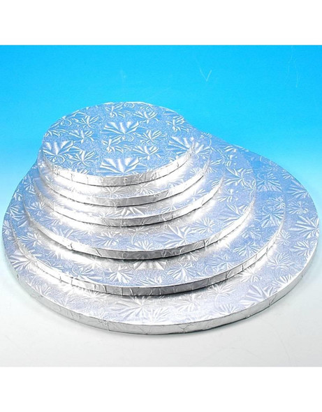 """ENJAY 8"""" Round Silver Board 1/2"""" Thick"""