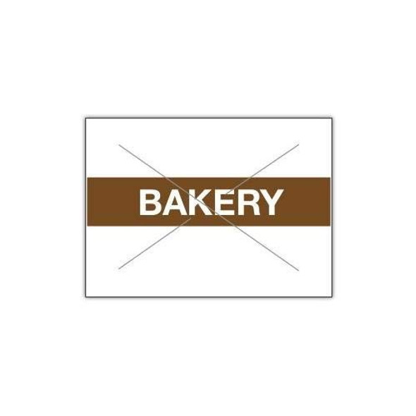 22-16 Garvey White/Brown Bakery Label For 22-66 Two Line Gun